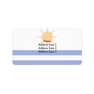 Palmas Tocantins Brasil, Brazil Personalized Address Label