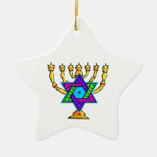 Palmatorias judías ornamento para arbol de navidad
