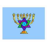 Palmatorias judías tarjeta postal