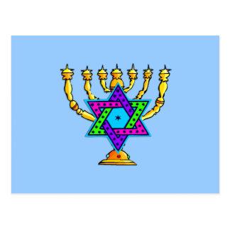Palmatorias judías tarjetas postales