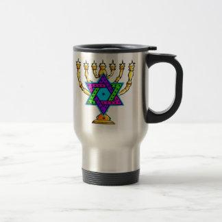 Palmatorias judías taza de viaje de acero inoxidable