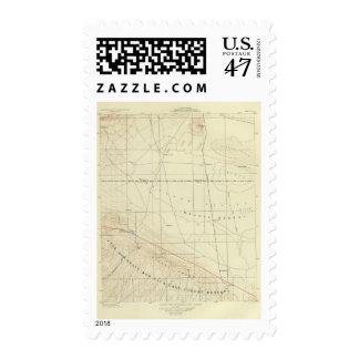 Palmdale quadrangle showing San Andreas Rift Postage