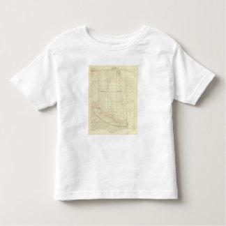 Palmdale quadrangle showing San Andreas Rift Toddler T-shirt