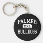 Palmer - Bulldogs - High School - Palmer Texas Keychain