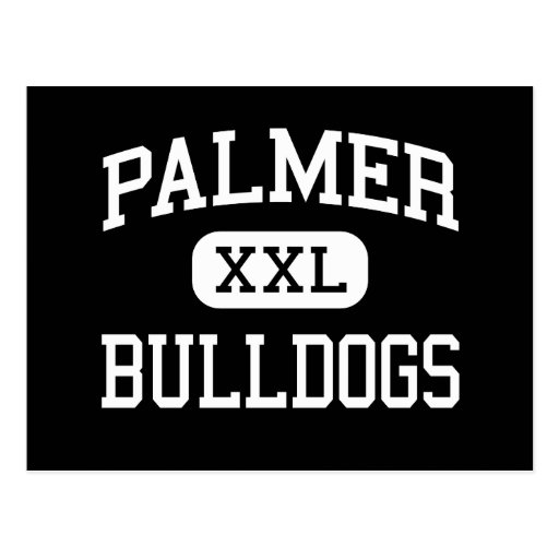 Palmer - Bulldogs - High School - Palmer Texas Postcard