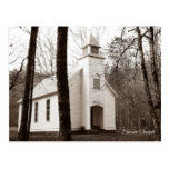 Palmer Chapel - Cataloochee Cove - Smoky Mtns Postcard