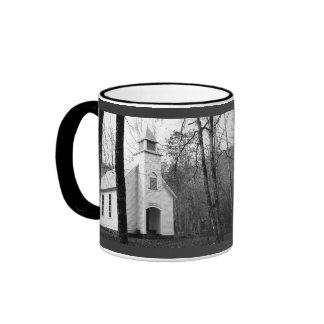 Palmer Chapel Methodist Church - Cataloochee Cove Ringer Coffee Mug