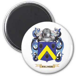 Palmer Coat of Arms (Family Crest) 2 Inch Round Magnet