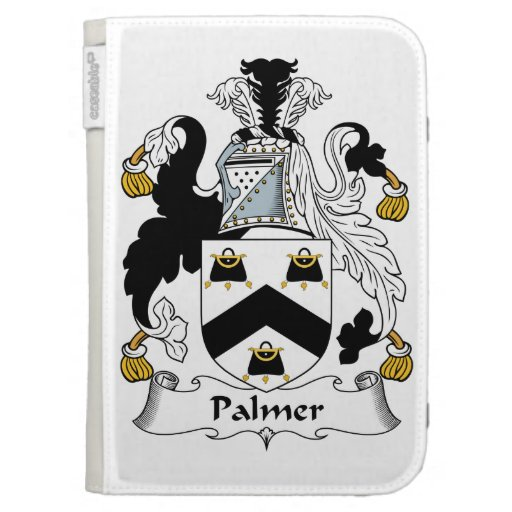 Palmer Family Crest Kindle 3 Cases
