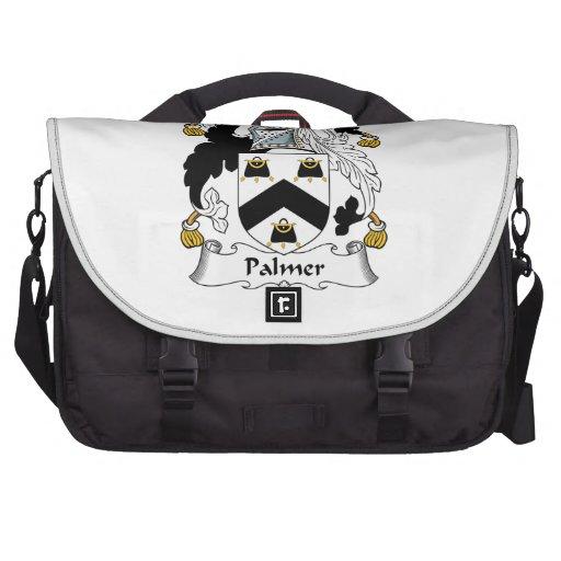 Palmer Family Crest Laptop Messenger Bag
