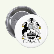 Palmer Family Crest Button