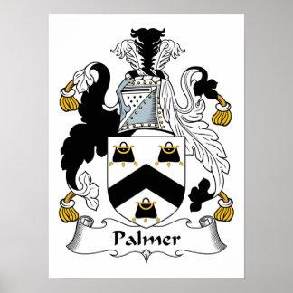 Palmer Family Crest Poster