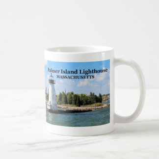 Palmer Island Lighthouse, Massachusetts Mug