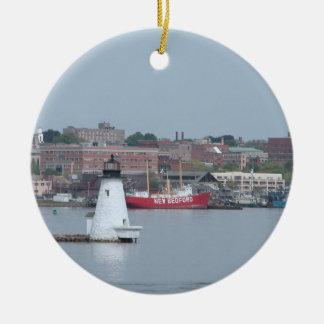 Palmer Island, New Bedford Harbor Ceramic Ornament