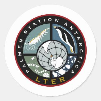 Palmer LTER Logo Products Classic Round Sticker