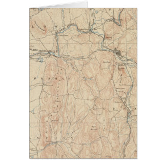 Palmer, Massachusetts Card