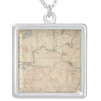 Palmer, Massachusetts Silver Plated Necklace