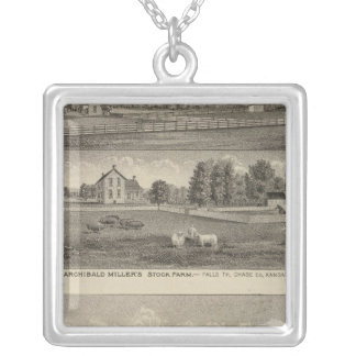 Palmer Ranch, Kansas Silver Plated Necklace