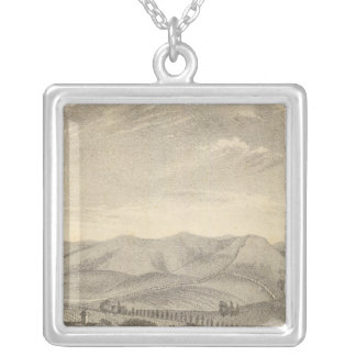 Palmer res, vineyard personalized necklace