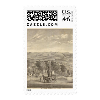 Palmer res, vineyard postage stamps