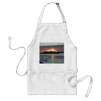 Palmer view sunset adult apron