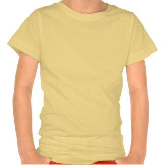 Palmera amarilla de la chispa camiseta