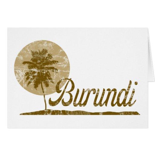 Palmera Burundi Felicitacion