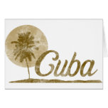 Palmera Cuba Felicitación