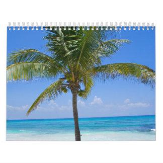 Palmera de Bahamas Calendario