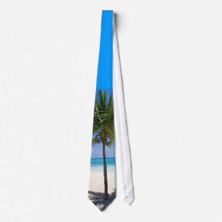 Palmera de Bahamas Corbata Personalizada