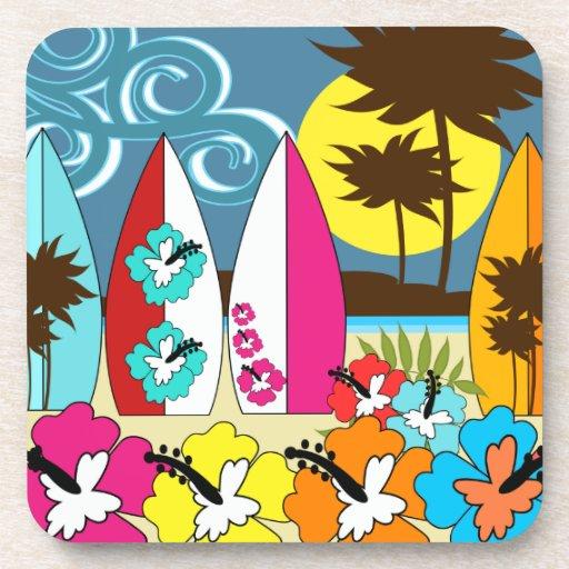 Palmera de las tablas hawaianas de la playa del oc posavaso