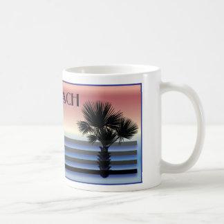 Palmera del SC de Myrtle Beach Taza Clásica