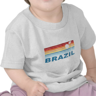 Palmera el Brasil Camisetas