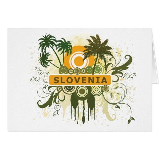 Palmera Eslovenia Felicitaciones