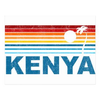 Palmera Kenia Tarjeta Postal