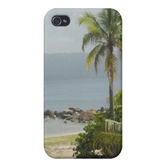 Palmera Montego Bay Jamaica iPhone 4 Cárcasas