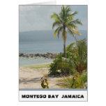 Palmera, Montego Bay Jamaica junio de 2011 Tarjeta