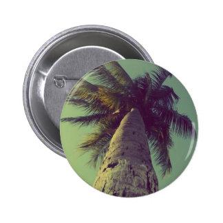 Palmera Pin Redondo De 2 Pulgadas