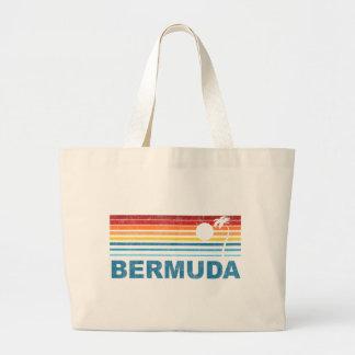 Palmera retra Bermudas Bolsa De Tela Grande