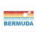 Palmera retra Bermudas Postal