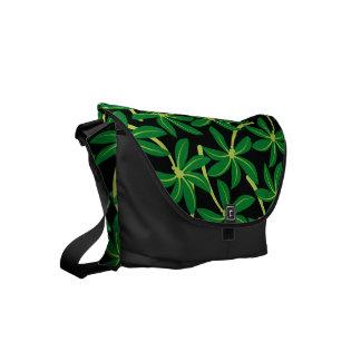 Palmera tropical del coco bolsas de mensajeria