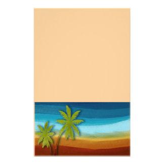 "Palmera tropical folleto 5.5"" x 8.5"""
