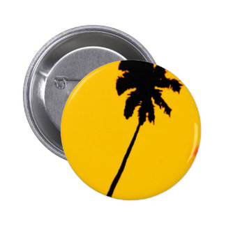 Palmera tropical pin redondo 5 cm