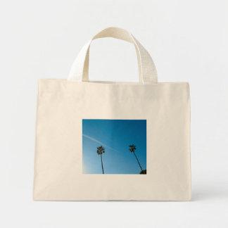palmeras bolsa tela pequeña