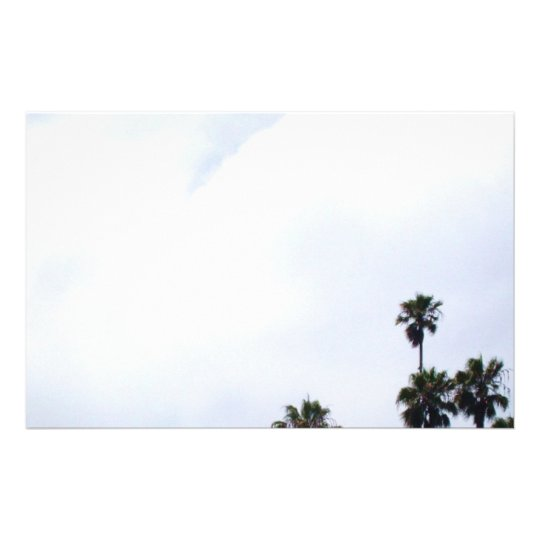 PALMERAS de CALIFORNIA inmóviles Personalized Stationery