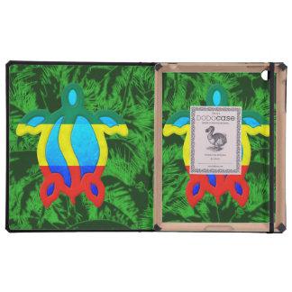 Palmeras de Rasta Honu iPad Cobertura