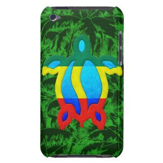 Palmeras de Rasta Honu iPod Touch Case-Mate Cárcasas