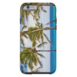 Palmeras del coco (nucifera de los Cocos) que se Funda De iPhone 6 Tough