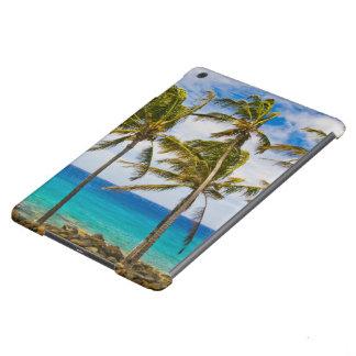 Palmeras del coco (nucifera de los Cocos) que se s Funda Para iPad Air