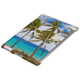 Palmeras del coco (nucifera de los Cocos) que se s Funda Para iPad